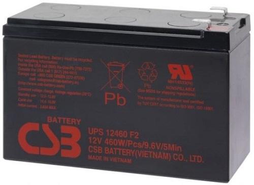 PowerWalker Battery CSB UPS12460 (91010110) 1x9,0Ah, UPS-laitteen akku