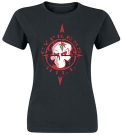 Cypress Hill - Logo - T-paita - Naiset - Musta