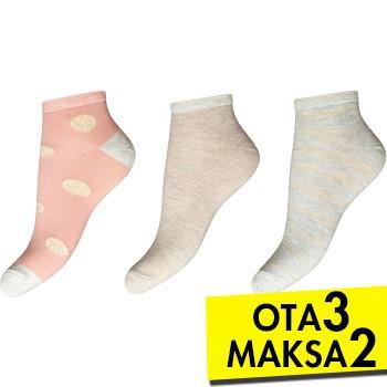 Decoy 3 pakkaus Glitter Sneaker Socks * Ilmainen Toimitus *