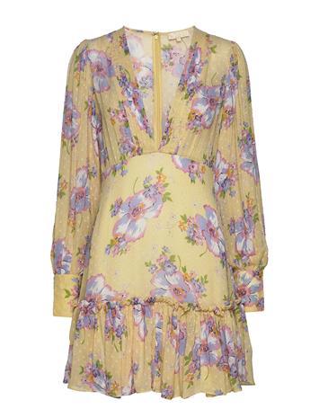 by Ti Mo Delicate Semi Mini Dress Lyhyt Mekko Keltainen By Ti Mo HAPPINESS