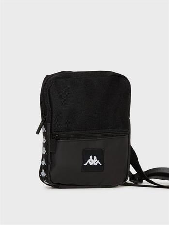 KAPPA Shoulder Bag Banda Bayes Laukut Musta