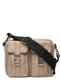 RE:DESIGNED EST 2003 Lunas Bags Small Shoulder Bags - Crossbody Bags Harmaa RE:DESIGNED EST 2003 KHAKI