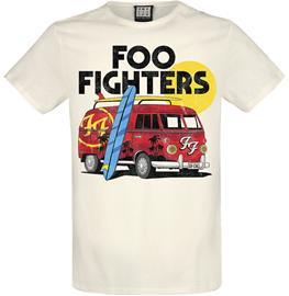 Foo Fighters - Amplified Collection - Camper Van - T-paita - Miehet - Luonnonvalkoinen