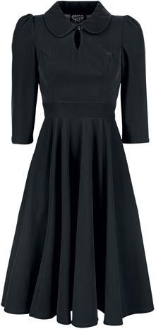 H&R London - Glamorous Velvet Tea Dress - Keskipitkä mekko - Naiset - Musta