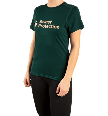 Sweet Protection W HUNTER SS JERSEY FOREST GREEN