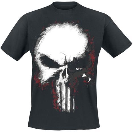 The Punisher - Shattered Skull - T-paita - Miehet - Musta