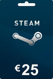 Steam lahjakortti 25 euroa