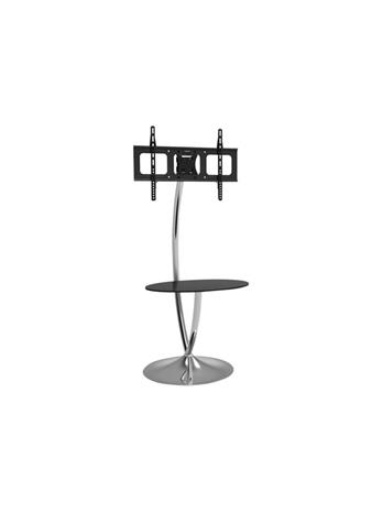 IC INTRACOM techly Floor Support with Round Base and Shelf