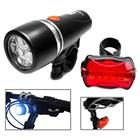 Polkupyörän valo 5 LED - Eteen&Taakse