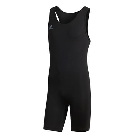 Adidas Powerlift Suit painonnostotrikoo, musta