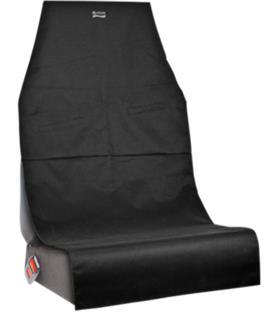 Britax kurasuoja, istuinsuoja autoon musta suojassa isofix reiät
