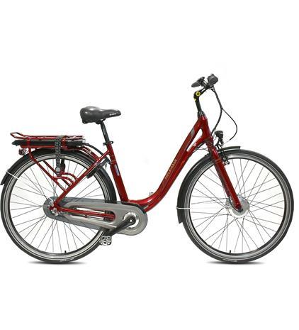 Helkama CE3 -sähköpyörä, punainen, 48 cm