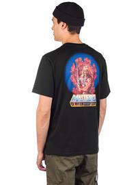 Element Masters Of The Universe He-Man T-Shirt flint black Miehet