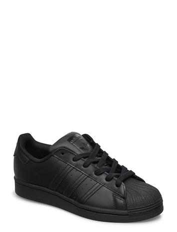 adidas Originals Superstar J Tennarit Sneakerit Kengät Musta Adidas Originals CBLACK/CBLACK/CBLACK