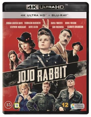 Jojo Rabbit (2019, 4k UHD + Blu-Ray), elokuva