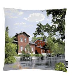 Vallila Loimijoki, koristetyynynpäällinen 43 x 43 cm
