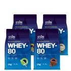 Whey-80 Mix&Match, 4x1kg