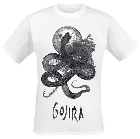 Gojira - Serpent Moon - T-paita - Miehet - Valkoinen