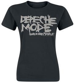 Depeche Mode - People Are People - T-paita - Naiset - Musta