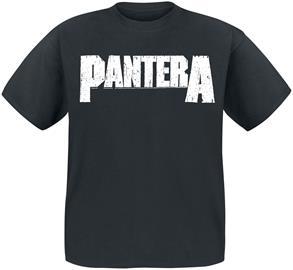 Pantera - Logo - T-paita - Miehet - Musta