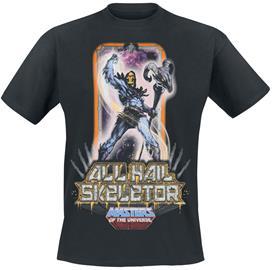 Masters Of The Universe - He-Man - Skeletor - T-paita - Miehet - Musta
