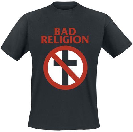 Bad Religion - Cross Buster - T-paita - Miehet - Musta