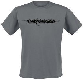 Carcass - Logo - T-paita - Miehet - Hiilenharmaa