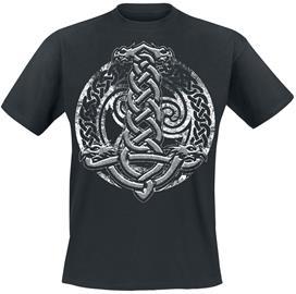Celtic Shield - - T-paita - Miehet - Musta