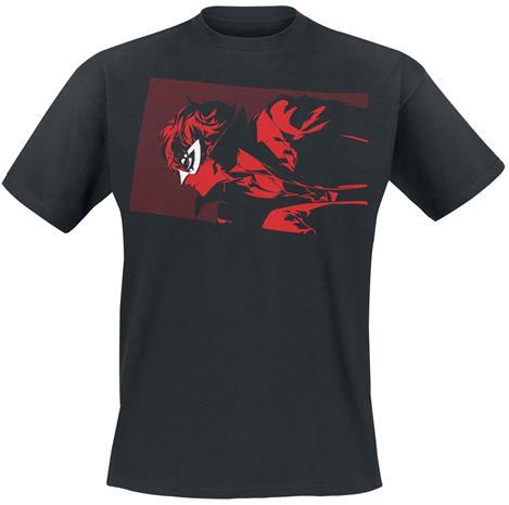 Persona - 5 - Joker - T-paita - Miehet - Musta