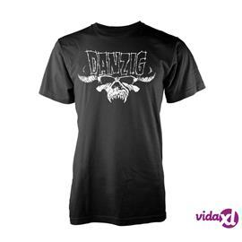 Danzig - Classic Logo - T-paita - Miehet - Musta