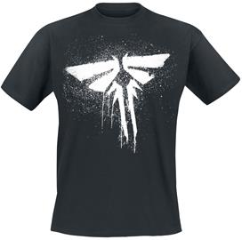 The Last Of Us - Firefly - T-paita - Miehet - Musta