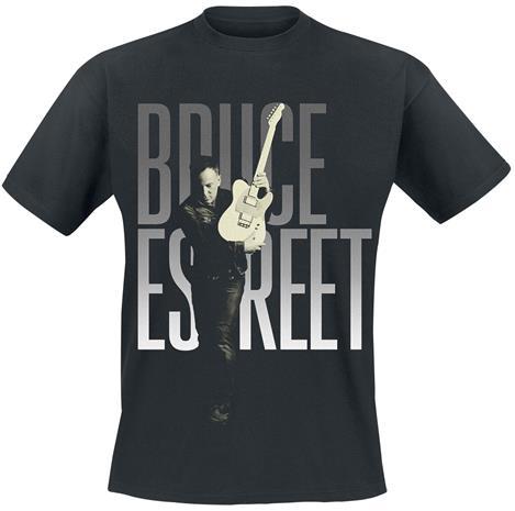 Bruce Springsteen - Estreet - T-paita - Miehet - Musta