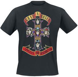 Guns N' Roses - Appetite For Destruction - Cover - T-paita - Miehet - Musta