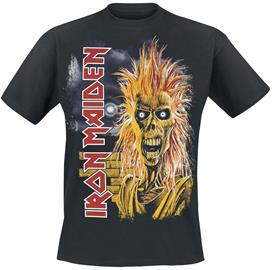 Iron Maiden - 1st Album Tracklist - T-paita - Miehet - Musta