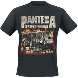 Pantera - Cowboys From Hell - Fire Frame - T-paita - Miehet - Musta