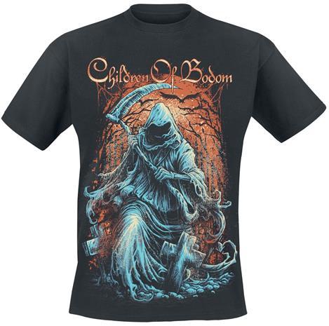 Children Of Bodom - Grim Reaper - T-paita - Miehet - Musta