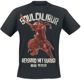 Soulcalibur - Heishiro Mitsurugi - T-paita - Miehet - Musta