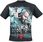 Vikings - Ragnar - Battle - T-paita - Miehet - Musta