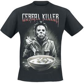 Halloween - Michael Myers - Cereal Killer - T-paita - Miehet - Musta