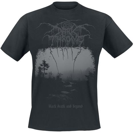 Darkthrone - Black death and beyond - T-paita - Miehet - Musta