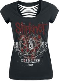 Slipknot - Iowa Star - T-paita - Naiset - Musta