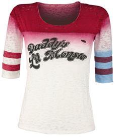 Suicide Squad - Harley Quinn - Daddy's Little Monster - Pitkähihainen paita - Naiset - Monivärinen