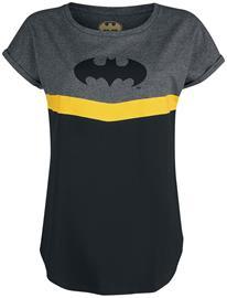 Batman - Batman - T-paita - Naiset - Musta sävytetty harmaa