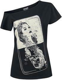 Heartless - Tarot Top - T-paita - Naiset - Musta