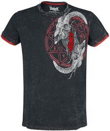 Slipknot - EMP Signature Collection - T-paita - Miehet - Harmaa punainen