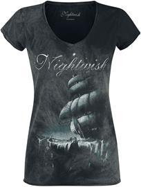 Nightwish - Woe To All - T-paita - Naiset - Musta