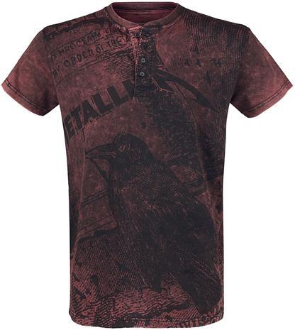 Metallica - EMP Signature Collection - T-paita - Miehet - Viininpunainen
