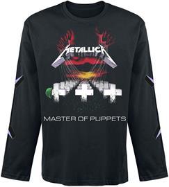 Metallica - Master Of Puppets - Pitkähihainen paita - Miehet - Musta