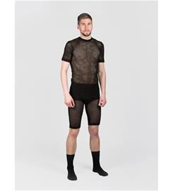 Svala 100% Dry Stretch Mesh T-shirt, XXL, musta