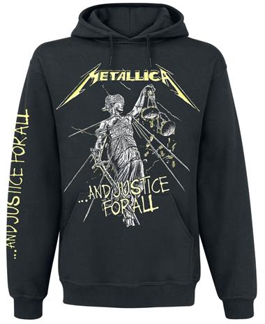 Metallica - ...And Justice For All - Huppari - Miehet - Musta